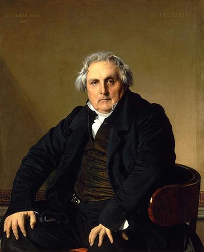 Louis-Francois Bertin - Ingres